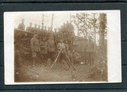 LITHUANIA 1915 WW1 MEMEL LAND FELD LETTER FOTO POSCARD SCHALLENINGKEN SMALININKAI - 1. Weltkrieg