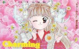 Télécarte Japon * MANGA * Comics * CHARMING  (16.789)  Japan PHONECARD * TELEFONKARTE * CINEMA * FILM - BD