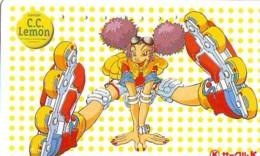 Télécarte Japon * MANGA * Comics * C.c. Lemon   (16.798)  Japan PHONECARD * TELEFONKARTE * CINEMA * FILM - BD
