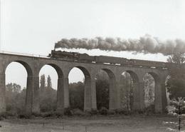 Figeac Viaduc De Ceint D'Eau 141 R Photo 13 X 18 - Treni