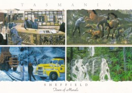 Sheffield, Town Of Murals, Multiview, North West Tasmania - Unused - Other