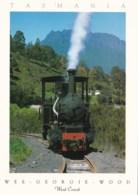 WEE GEORGIE WOOD Steam Locomotive, Tullah, West Coast, Tasmania - Unused - Other
