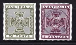 Australia 2015 Victoria Cross - For Valour Set Of 2 Used - Fault - 2010-... Elizabeth II