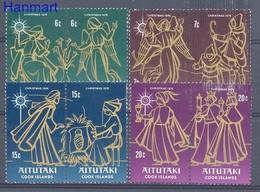 Aitutaki 1976 Mi 215-222 MNH ( ZS7 ATTpar215-222 ) - Aitutaki
