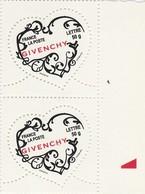 FRANCE 2007 N°3999** COEUR BLANC De GIVENCHY LA PAIRE   BDF - Neufs
