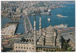 Istanbul - Eminönü Camii Ve Galata Köprüsü -  (Türkiye) - Turchia