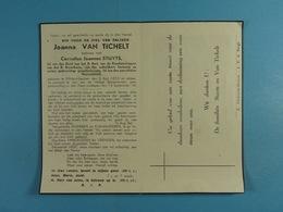 Joanna Van Tichelt Vve Stuyts Wildert-Esschen 1859 1948 - Images Religieuses
