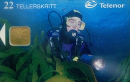 Norway Chip Cards, Diving (1pcs) - Norvegia