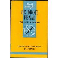 Le Droit Penal Jean Larguier +++BE+++ PORT GRATUIT - Droit