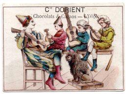 Chromo Chocolat Cie D'Orient. Musiciens En Costumes Et Instruments à Cordes. - Other