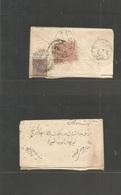 Afghanistan. 1925. Reverse Fkd Envelope, Local Depart Oval Ds + British India Used In Pakistan 1a Brown Tied Landikhana - Afghanistan