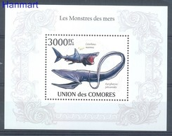Comoros 2010 Mi Bl 574 MNH ( ZS4 COMbl574 ) - Meereswelt