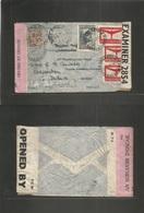Argentina - Xx. 1943 (27 Apr) WWII. San Eduardo, SF - Ireland, Dublin (28 May) Air Multifkd Env + North Atlantic + IRISH - Argentine