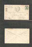 China - Xx. C. 1908. Lwanchen, Chich-Li, North China - Sweden, Gotheborg. Via Siberia 2c Green Junk Issue Single Fkd Env - China