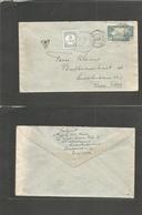 Frc - Senegal. 1938 (12 Dec) Dakar - Netherlands, Amsterdan (16 Dec) Fkd Env + Taxed + Dutch Postage Due Tied At Arrival - France (former Colonies & Protectorates)