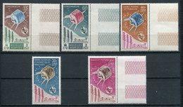 1965- GRANDES SERIES- U.I.T. SATELLITE  -M.N.H.  - 5 VAL.LUXE !! - Frankrijk (oude Kolonies En Protectoraten)
