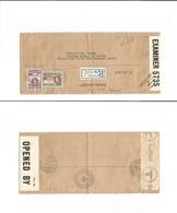 Bc - Gold Coast. 1943 (30 July) Red Cross Mail. Dutch, French And English Language. Accra - Switzerland, Geneva (7 Oct) - Unclassified