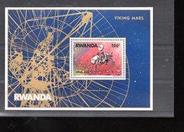 RWANDA BLOC 75** SUR L OPERATION VIKING SUR MARS - Rwanda