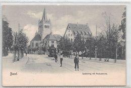 Basel Spalenring Mit Pauluskirche - BS Bâle-Ville