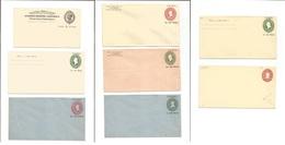 Cuba. 1900-1902. Periodo Americano. Selección De 8 Diff. Enteros Postales Incl Sobrecargados, Nuevos Valores, Cuchillo U - Non Classés