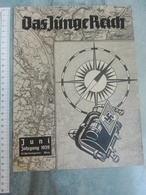 1939  DAS JUNGE REICH  WWII WW2 GERMANY MAGAZINE NEWSPAPERS NEWS WAR FROHE FAHRT ZEITUNG TRAIN WIEN - 1939-45