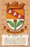 (2393)  Nancy,  Héraldique Des Villes De France Par Maurice Jacquez (A 393) - Nancy