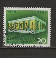 1969-Europa. - Oblitérés