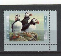 CANADA - Y&T N° 1451** - Faune - Oiseau - Macareux Moine - 1952-.... Règne D'Elizabeth II