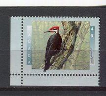 CANADA - Y&T N° 1452** - Faune - Oiseau - Grand Pic - 1952-.... Règne D'Elizabeth II