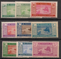 Mauritanie - 1928-38 - N°Yv. 57 à 61 - Série Complète - Neuf * / MH VF - Neufs