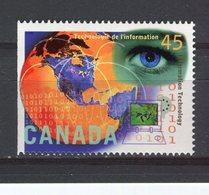 CANADA - Y&T N° 1456** - Technologie De L'information - 1952-.... Règne D'Elizabeth II