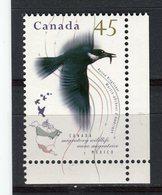 CANADA - Y&T N° 1422** - Faune Migratrice - Oiseau - Martin-pêcheur D'Amérique - 1952-.... Règne D'Elizabeth II