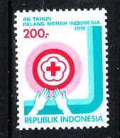 Indonesia - 1991.  Croce Rossa. Red Cross. MNH - Croce Rossa