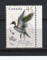 CANADA - Y&T N° 1424** - Faune Migratrice - Oiseau - Canard Pilet - 1952-.... Règne D'Elizabeth II