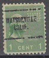 USA Precancel Vorausentwertung Preo, Locals California, Watsonville 704 - Vereinigte Staaten