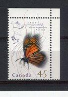 CANADA - Y&T N° 1425** - Faune Migratrice - Papillon - Monarque - 1952-.... Règne D'Elizabeth II