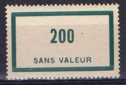 FRANCE ( FICTIF ) : Y&T  N°  F92  TIMBRE  NEUF  AVEC  TRACE  DE  CHARNIERE . - Fictifs
