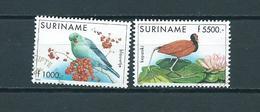 1999 Suriname Complete Set Birds,oiseaux,vogels Used/gebruikt/oblitere - Suriname