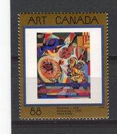 CANADA - Y&T N° 1402** - Floraison De Alfred Pellan - 1952-.... Règne D'Elizabeth II