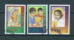 1997 Suriname Complete Set Child Welfare Used/gebruikt/oblitere - Suriname