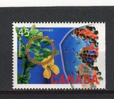 CANADA - Y&T N° 1457** - Technologie De La Biologie - 1952-.... Règne D'Elizabeth II
