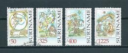 1998 Suriname Complete Set Christmas,kerst,weihnachten Used/gebruikt/oblitere - Suriname