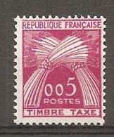 TAXE - Yv. N°  90  ** MNH  5c    Cote   4    Euro   TBE - Postage Due