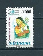1998 Suriname 50 Years WHO Used/gebruikt/oblitere - Suriname