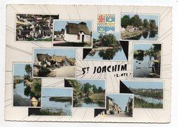 SAINT JOACHIM--1965--Grande Brière -- Multivues - (blason) - Timbre -cachet - Saint-Joachim