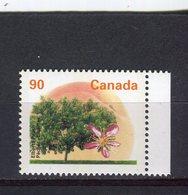 "CANADA - Y&T N° 1421** - Arbre Fruitier - Pêcher ""Elberta"" - 1952-.... Règne D'Elizabeth II"
