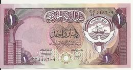 KOWEIT 1 DINAR 1980-91 UNC  P 13 D - Koweït