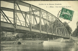 08 Ardennes FLIZE Pont Des FORGES De Flize 2 Scans - France