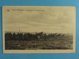 Camp D'Elsenborn Exercice De Tir De L'Artillerie Lourde - Elsenborn (camp)