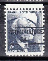 USA Precancel Vorausentwertung Preo, Locals California, Woodbridge 841 - Vereinigte Staaten